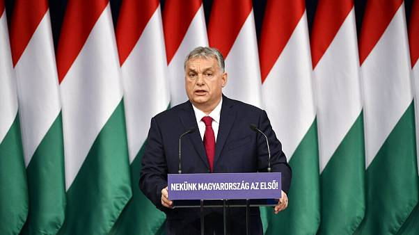 Viktor Orban delivers his annual 'State of Hungary' speech