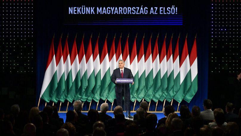 (Zsolt Szigetvary/MTI via AP)