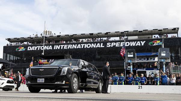 سيارة الرئيس الأمريكي دونالد ترامب