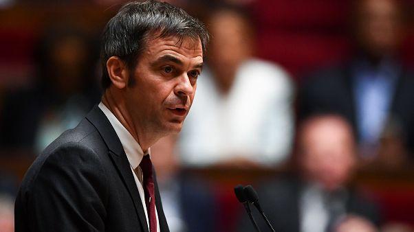 Oliver Véran, le nouveau ministre de la santé français, à l'Assemblée nationale, le 17 février 2020
