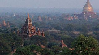 Myanmar'ın tarihi Bagan kenti