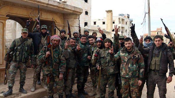 جنود من جيش بشار الأسد