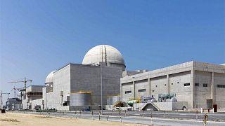 محطة البراكة للطاقة النووية قيد الإنشاء في الصحراء الغربية لأبو ظبي (وام)