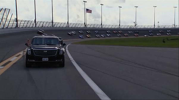 Трамп на трассе NASCAR