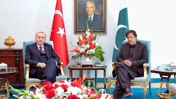 هند در اعتراض به موضعگیری اردوغان درباره کشمیر سفیر ترکیه را احضار کرد