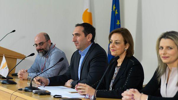 Ο Υπουργός Υγείας Κωνσταντίνος Ιωάννου σε δηλώσεις στα ΜΜΕ για τον κορονοϊό