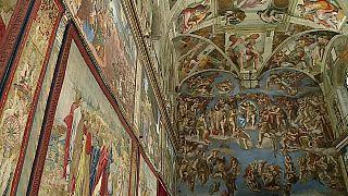 """Gli arazzi di Raffaello """"rivestono"""" la Cappella Sistina"""