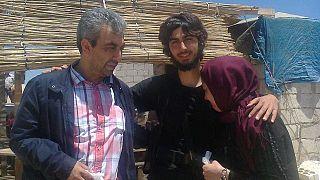Osman et Gülay T. avec leur fils  Burak