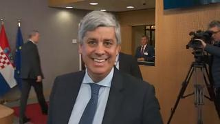 Mario Centeno, az eurócsoport elnöke