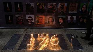برگزاری مراسم چهلم قربانیان سرنگونی هواپیمای اوکراینی