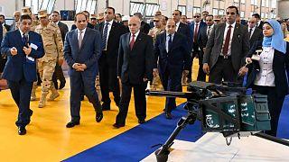 السيسي يفتتح مصنعاً لتصنيع الأسلحة الخفيفة والمتوسطة والقذائف في أبو زعبل