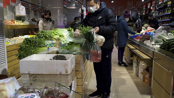 Çin'deki yeni koronavirüs vakasında  son sayılar düşüş eğilimine işaret ediyor - Ng Han Guan