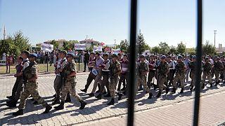دستگیری مظنونان به ارتباط با کودتای نافرجام ترکیه (عکس تزئینی است)