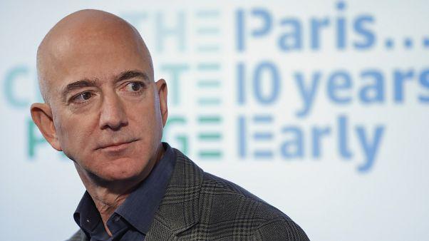 Amazon CEO Jeff Bezos in Washington, US, on Sept. 19, 2019.