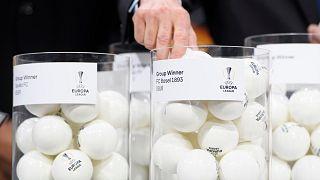 UEFA çekilişi