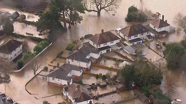 Flooding after UK hit by second big storm in a week