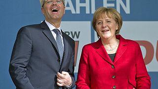 Röttgen und Merkel im Mai 2012
