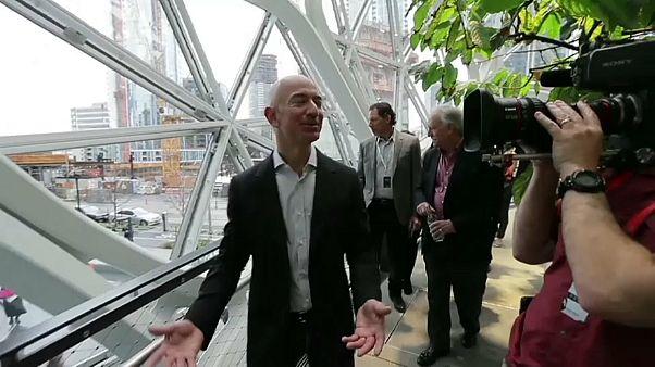 Mitarbeiter kritisieren 10-Milliarden-Spende von Amazon-Chef Bezos