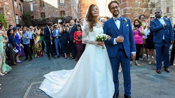 Fransa'da düğün töreni