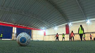 Futebol feminino da Síria marca golos na baliza da igualdade