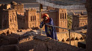 قصر آيت بنحدو التاريخي في جنوب شرق المغرب