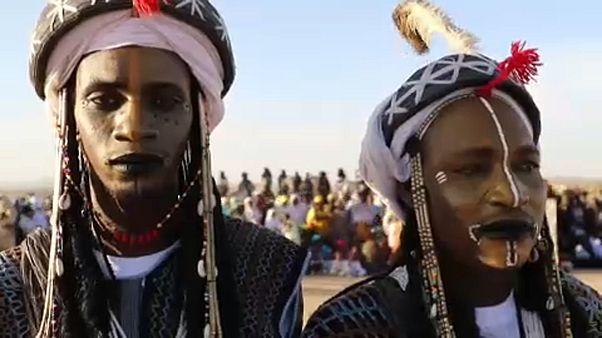 Фестиваль туарегов в Нигере