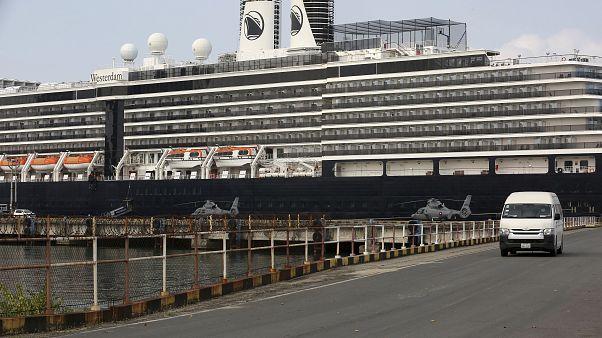 Kamboçya'nın kabul ettiği MS Westerdam yolcu gemisi