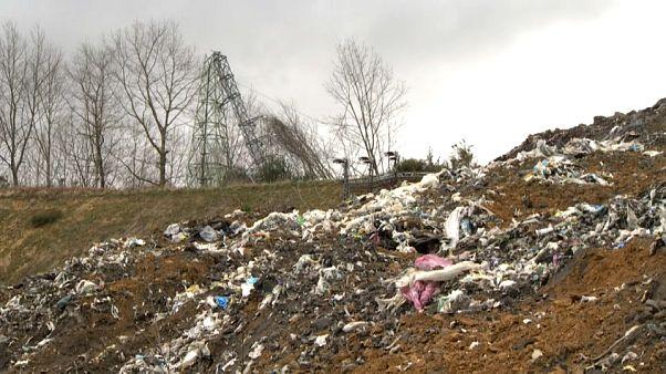 Désastre environnemental après l'incendie et l'effondrement d'une décharge au Pays basque espagnol