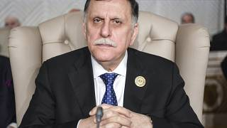 فايز السراج وعبد المجيد تبون يبحثان الأزمة الليبية في الجزائر