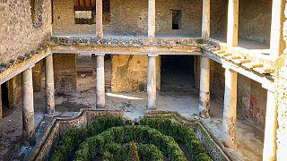 Πομπηία: Ανοίγει και πάλι το «Σπίτι των εραστών»