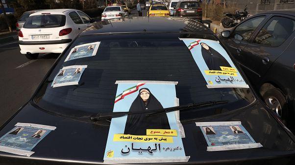 İran cuma günü parlamento seçimi için sandık abşına gidiyor