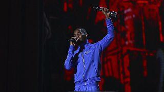 Rapper londrino recebeu o prémio britânico de melhor álbum do ano