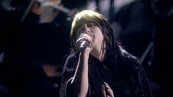 40. Brit Awards: Billie Eilish performt neuen Bond-Song
