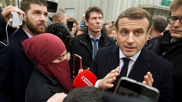 """El """"enemigo"""" de Francia es el """"separatismo islamista"""", según Macron"""