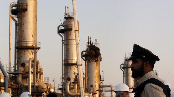 منشأة نفطية سعودية     أ ب