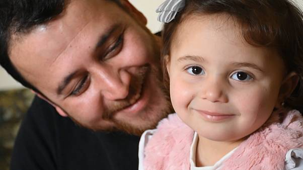 سلوى المحمد وأبوها عبد الله