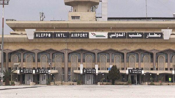 حلب، سوريا- 19 فبراير 2020