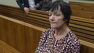 Britta Nielsen vor Gericht in Südafrika, 2018