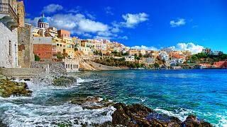 The island of Syros