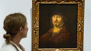 Rembrandt (e l'arte di autopromuoversi) in mostra al Museo Thyssen