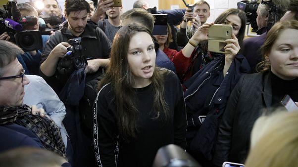 Сбежавшая из карантина Боткинской больницы Алла Ильина.