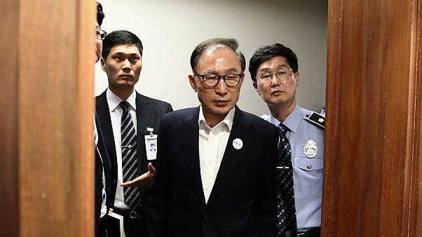 Eski Güney Kore Devlet Başkanı Lee