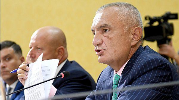 Arnavutluk Cumhurbaşkanı İlir Meta