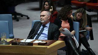 Türkiye'nin Birleşmiş Milletler (BM) Daimi Temsilcisi Feridun Sinirlioğlu