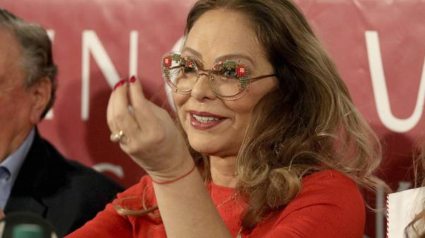 Italian actress Ornella Muti  (AP Photo/Ronald Zak)