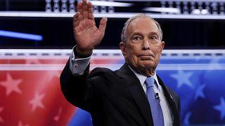 """""""Todos contra Michael Bloomberg"""": agitado debate en las primarias demócratas"""