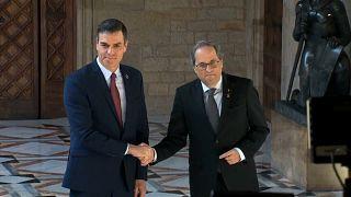 Pedro Sánchez se reunirá con Quim Torra el 26 de febrero