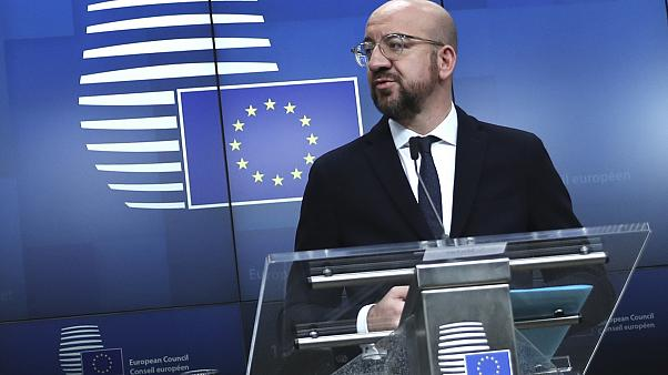 European Council President Charles Michel.
