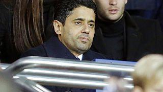 Paris Saint-Germain's president, Nasser Al-Khelaifi
