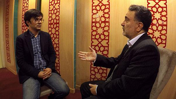 مصطفی تاجزاده در گفتوگو با یورونیوز: انتخابات پیشرو مسابقه یک اسبه است